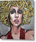 Gaga Metal Print