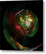 Gaia Revealed Metal Print