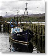 Gairloch Harbor Metal Print