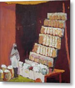 Gajak Sweet Shop Metal Print