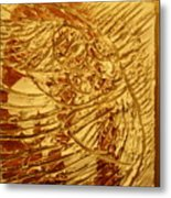 Gal- Tile Metal Print