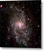 Galaxy In Traiangulum Metal Print