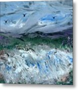 Gale Winds Metal Print