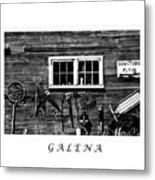 Galena Antiques Metal Print