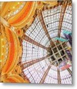 Galeries Lafayette Inside 3 Art Metal Print