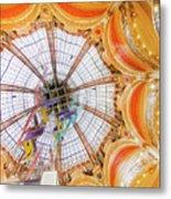 Galeries Lafayette Inside 4 Art Metal Print
