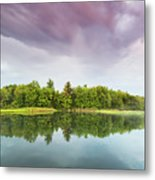 Gale's Pond Early In The Morning Metal Print