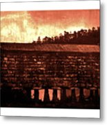 Galician Horreo Metal Print