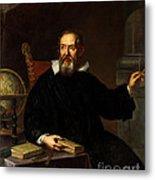 Galileo Galilei, Italian Astronomer Metal Print