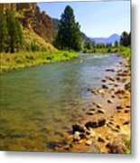 Gallitan River 1 Metal Print