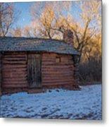 Galloway Homestead Cabin Metal Print