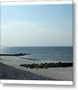 Galway Bay At Salt Hill Park Galway Ireland Metal Print