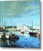 Galway Docks Metal Print