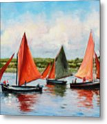 Galway Hookers Metal Print by Conor McGuire
