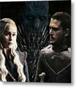 Game Of Thrones. Metal Print