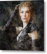 Game Of Thrones. Cersei Lannister. Metal Print