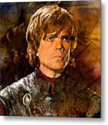 Game Of Thrones. Tyrion Lannister. Metal Print