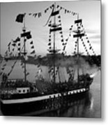Gang Of Pirates Metal Print