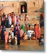Ganges Metal Print