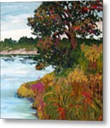 Ganges Tree Metal Print