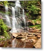 Ganoga Falls Ricketts Glen Metal Print