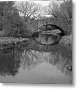 Gapstow Bridge - Central Park - New York City Metal Print