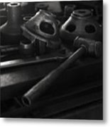 Garage Hammer And Tools Metal Print