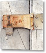 Garage Lock Number Two Metal Print