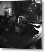 Garage Tools And Parts Metal Print