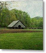 Garden And Barn Metal Print