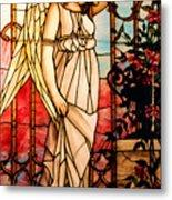 Garden Angel Metal Print