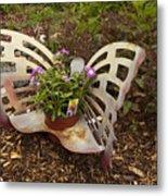 Garden Art Metal Print