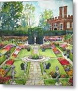 Garden At Hampton Court Palace Metal Print