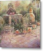 Garden At Linwood  Metal Print