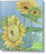 Garden Beauties Metal Print