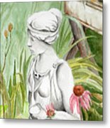 Garden Beauty Metal Print
