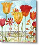 Garden Beauty-jp2960b Metal Print