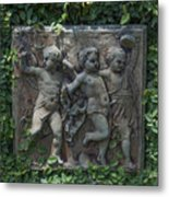 Garden Children Metal Print