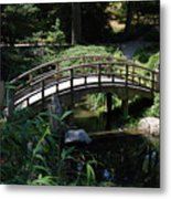 Garden Crossing Metal Print