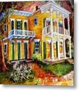 Garden District Home  Metal Print