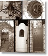 Garden Gates Metal Print
