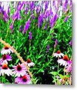 Garden Glory Metal Print