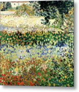 Garden In Bloom Metal Print