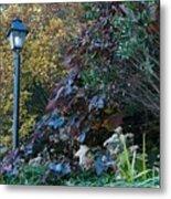 Garden Lamp Post Metal Print