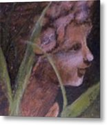 Garden Nymph Metal Print