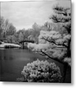 Garden Of Pure Clear Harmony Metal Print