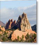 Garden Of The Gods Colorado Springs Metal Print