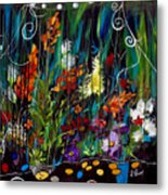 Garden Of Wishes Metal Print
