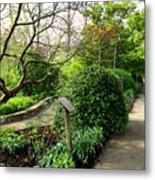 Garden Paths Metal Print