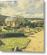 Garden Paths And Courtyards Metal Print